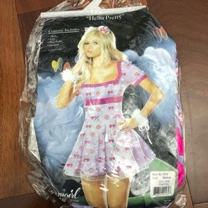 Dreamgirl hello pretty adult costume size medium